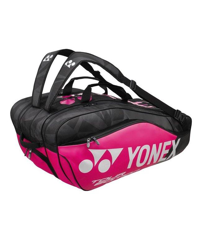 Yonex BAG9829EX Pro Racket Bag 9pcs (Pink/Black)