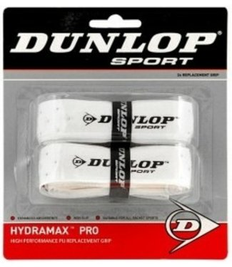 Dunlop Pro PU 2-Pack (White) Replacement Grip