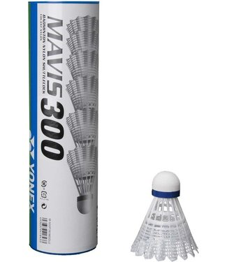 Yonex Mavis 300, White, Medium Speed Badminton Shuttles
