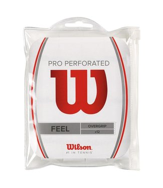 Wilson Pro Perforated Overgrip (12 pack)