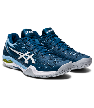 Asics Court Control FF Womens, Mako Blue/ White