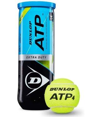 Dunlop Dunlop ATP Extra Duty Tennis Ball, 3- Can