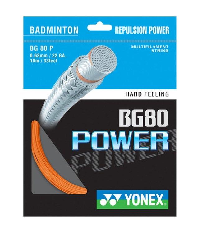 Yonex Yonex BG 80 Power Badminton String Orange