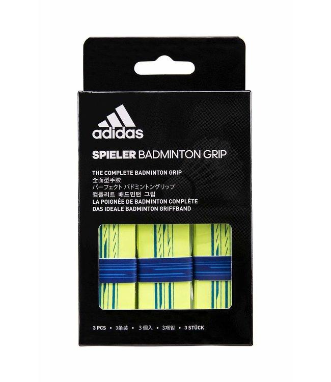 adidas Spieler Overgrip 3 Pack Yellow