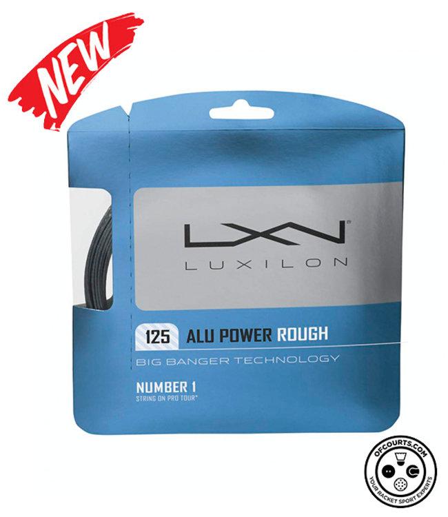 Luxilon ALU Power Rough 125 Tennis String (1/2 Set)
