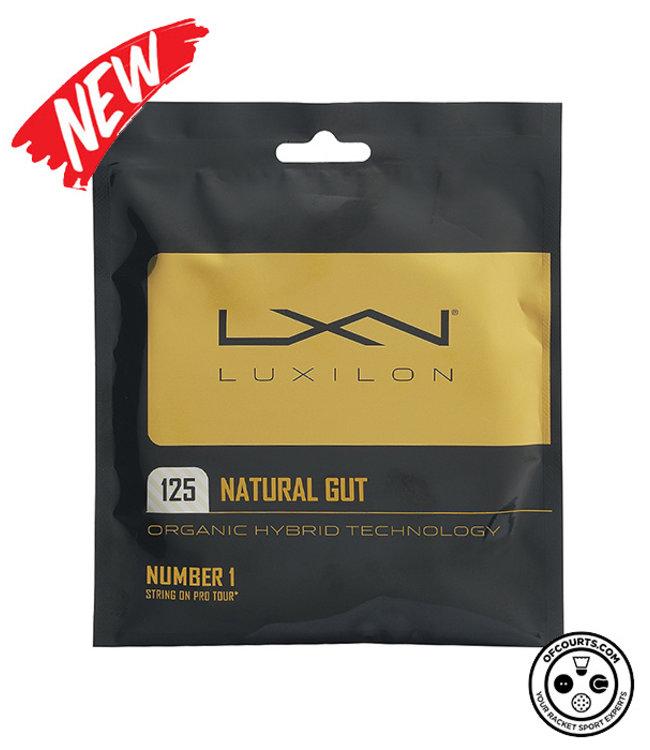 Luxilon Natural Gut 125 Tennis String (1/2 Set)