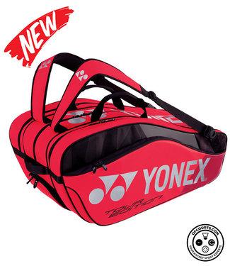 Yonex BAG9829EX Pro Racket Bag 9pcs (Black/Red)