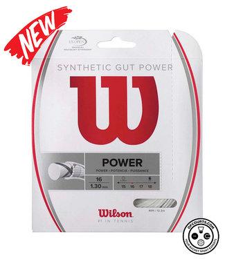 Wilson Synthetic Gut Power Tennis String (1/2 Set)