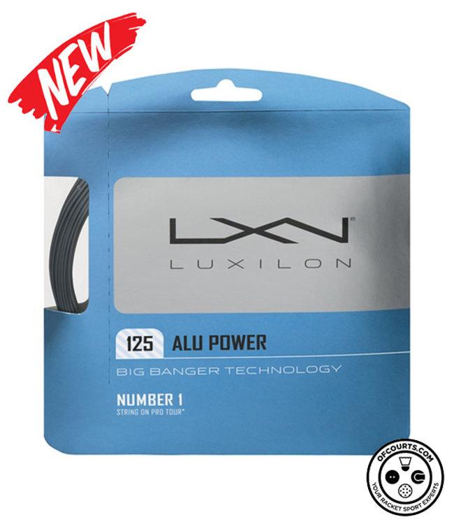 Luxilon ALU Power 125 Tennis String (Silver) (1/2)