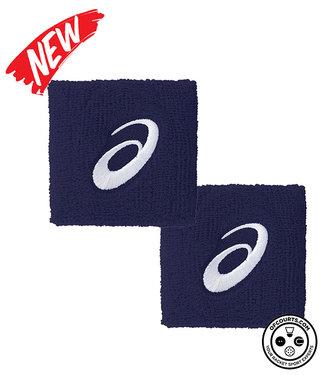 "Asics 4"" Navy Wristband (2-Pack)"