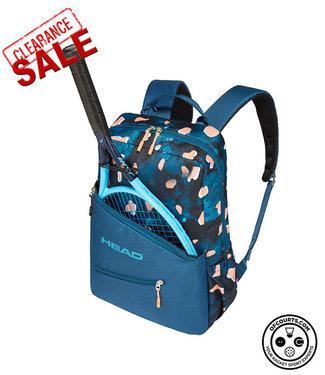 Head Women's Racket Backpack (Blue/Coral)