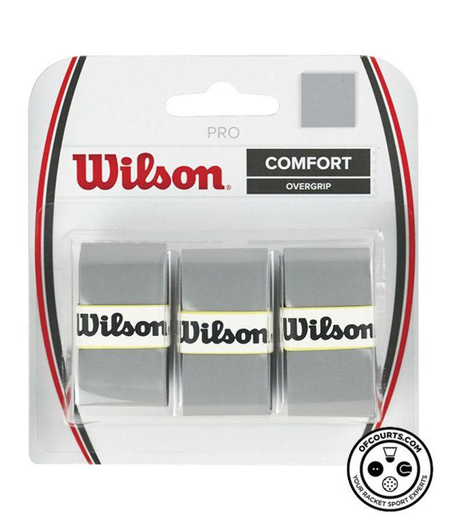 Wilson Pro Overgrip Grey