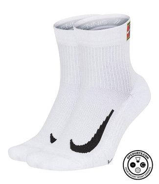 NIke Court Multiplier Max Socks - White