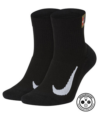 NIke Court Multiplier Max Socks - Black