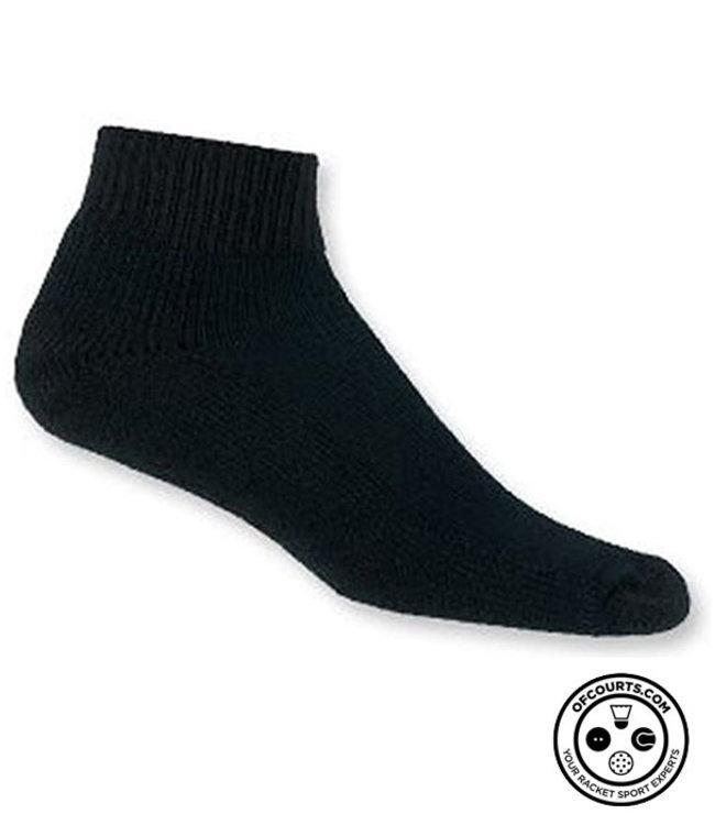 Thorlo Mini crew Tennis Sock - Black Large