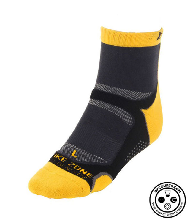 Karakal X4 Ankle Socks Yellow 7-13