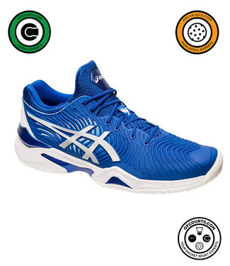 Asics Court FF Novak (Blue/White) Men's Tennis Shoe