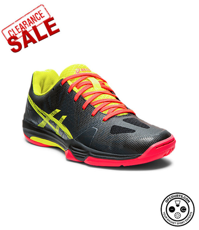 Asics Asics Gel Fastball 3 Women's Indoor Shoe (Black/Sour Yuzu)