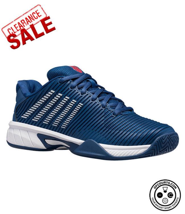 K-Swiss Hypercourt Express 2 Junior Tennis Shoe - Dark Blue/White @ Lowest Price