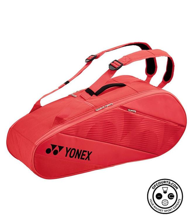 Yonex Active 6 Piece Racket Bag (Bright Red)