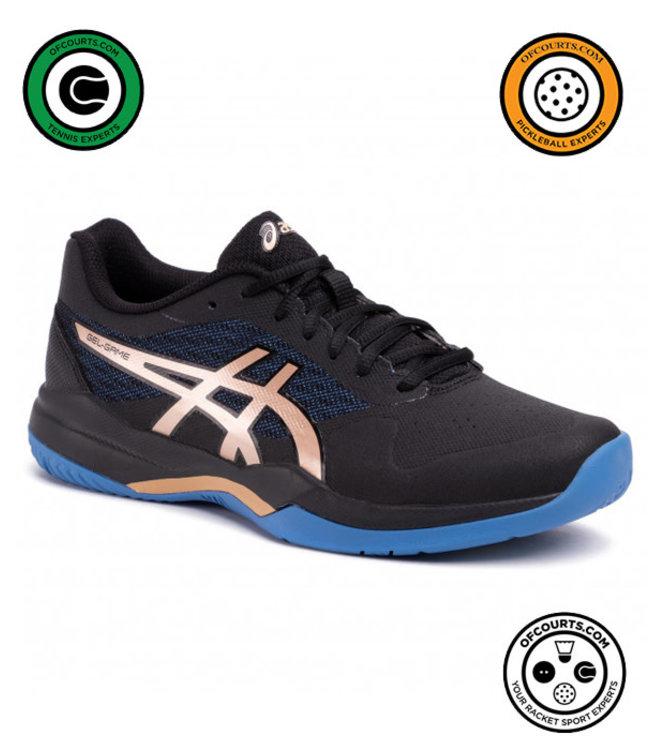 Asics Gel-Game 7 (Blk/Chmpg) Men's Tennis Shoe