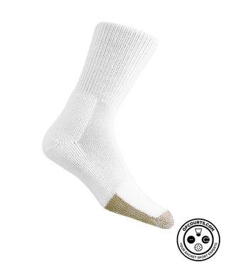 Thorlo Crew Tennis Socks (White)