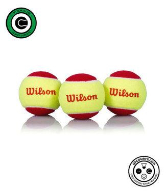 Wilson Starter Red Ball 3 Pack