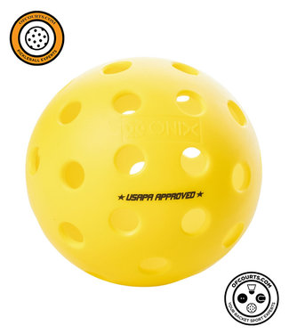 Onix Fuse G2 Outdoor Pickleball, Yellow