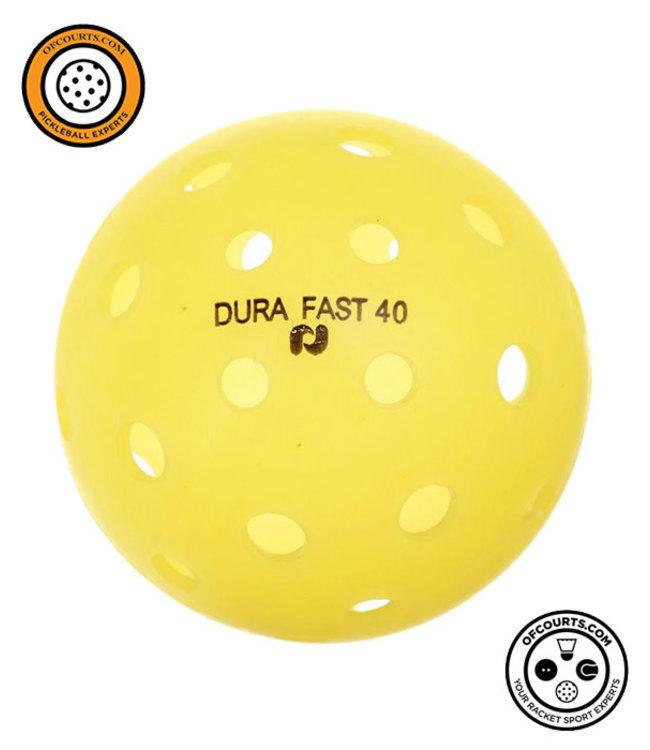 Onix Dura Fast 40 Outdoor Pickleball Ball (Yellow)