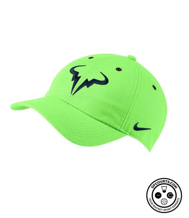 NIke Rafael Nadal Cap, Bull Logo - Lime