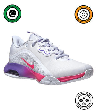 NIke Court Air Max Volley Women's Tennis Shoe (White/Pink)