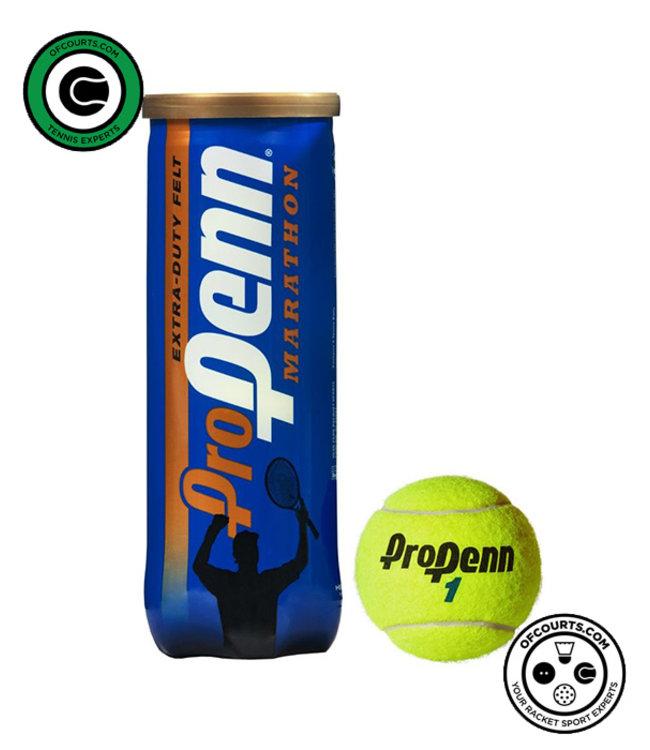 Penn Pro Marathon Extra Duty Tennis Balls - 3 Can