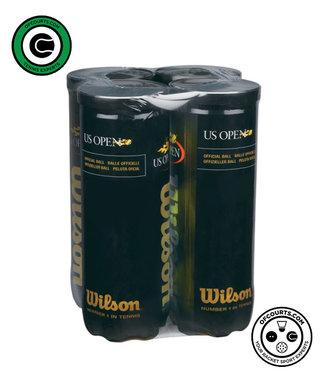 Wilson US Open Extra Duty Tennis Ball - 4 Pack