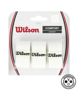 Wilson Pro Comfort Overgrip 3 Pack (White)