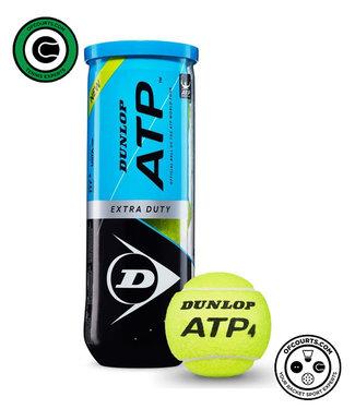 Dunlop ATP Extra Duty Tennis Ball, 3- Can