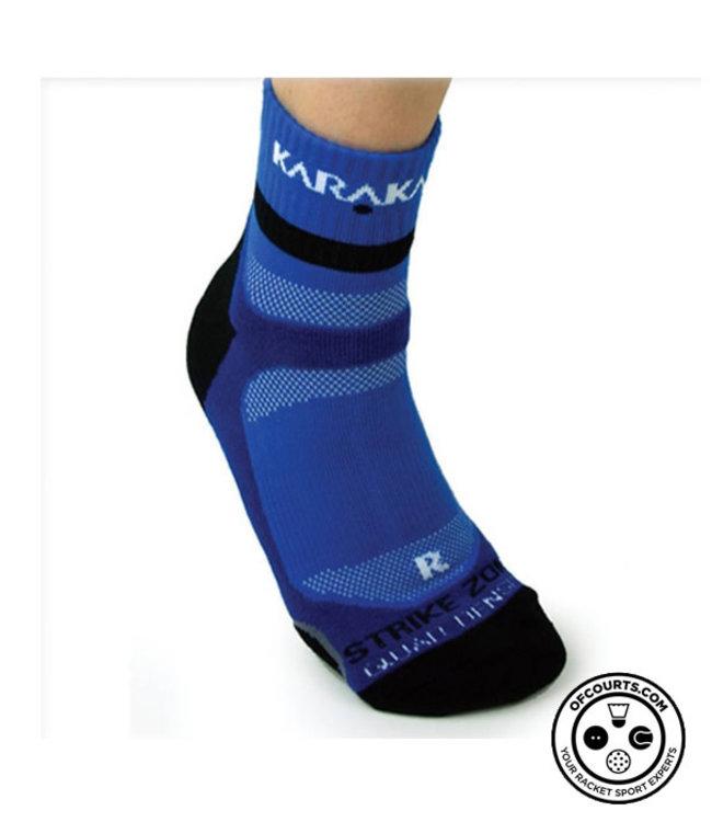 Karakal X4 Ankle Socks Blue 7-13