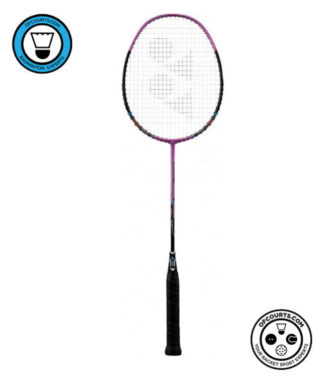 Yonex Nanoray 10 F (Pink) Strung Badminton Racket