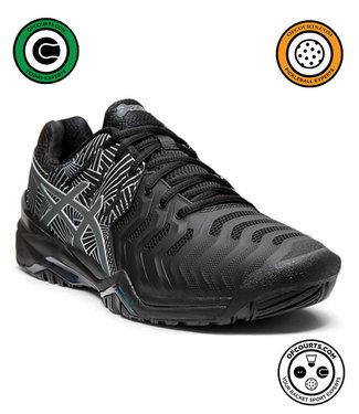 Asics Gel-Resolution 7 Lite Show (Black/Silver) Men's Tennis Shoe