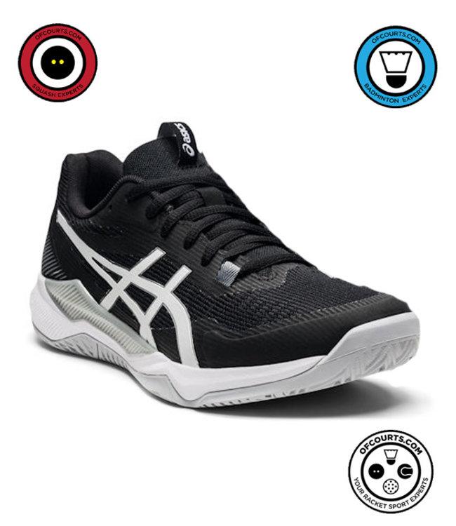 Asics Gel-Tactic Women's Indoor Shoe (Black/Silver)