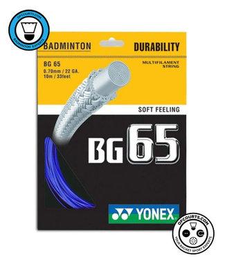 Yonex BG 65 Badminton String Blue