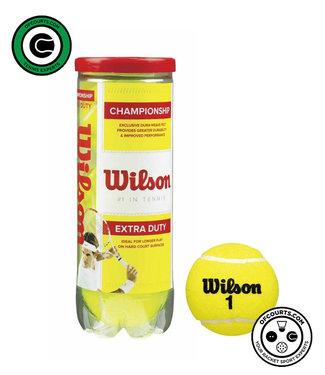 Wilson Championship Extra Duty 3-Tube Tennis Ball