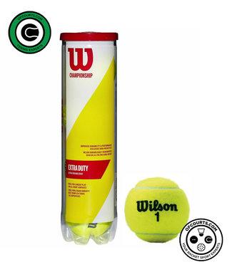 Wilson Championship Extra Duty 4-Tube Tennis Ball