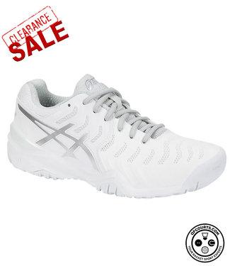 Asics Gel-Resolution 7 (White) Women's Tennis Shoe