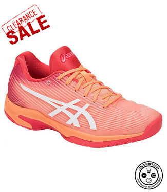 Asics Solution Speed FF (Mojave/White) Women's Tennis Shoe