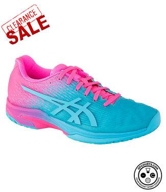 Asics Solution Speed FF (Pink/Blue) Women's Tennis Shoe