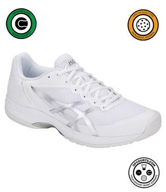 Asics Gel-Court Speed (White/Silver) Men's Tennis Shoe