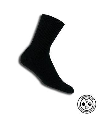 Thorlo Crew Tennis Socks (Black)