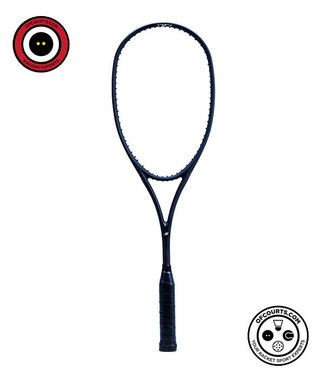 Xamsa Obsidian eXposed (16x19) Squash Racquet - Unstrung