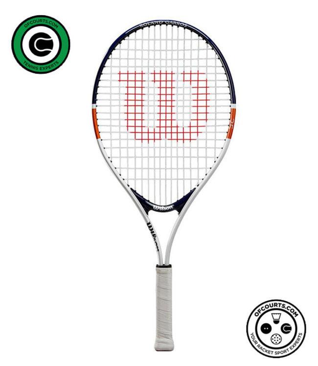 "Wilson Roland Garros Junior 25"" Tennis Racket"