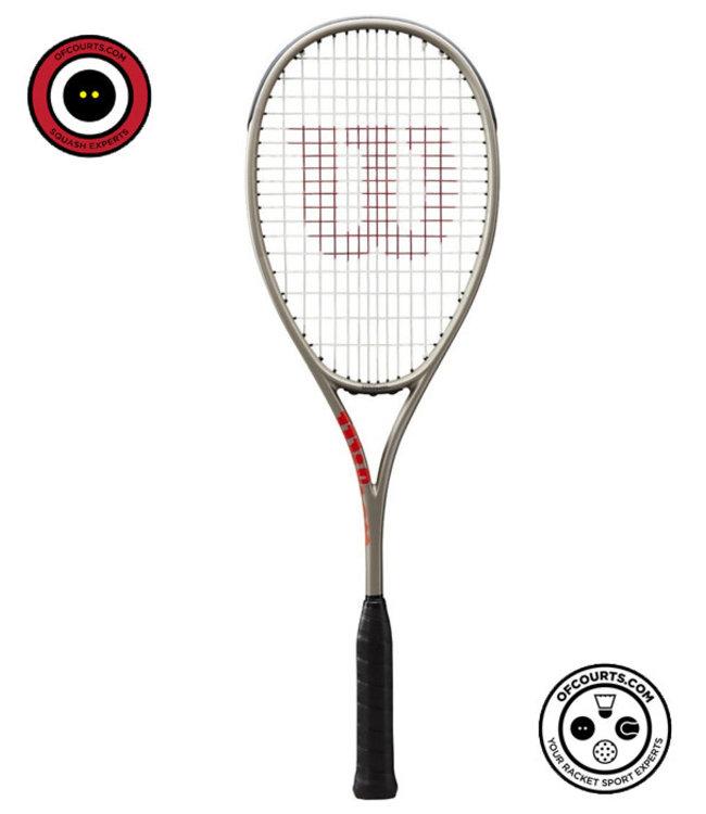 Wilson Pro Staff L  Squash Racket  Silver/Red